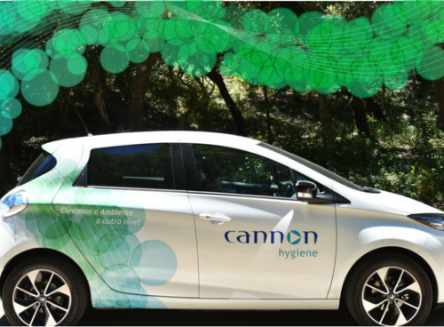 Cannon Hygiene Portugal's new electric vehicles image