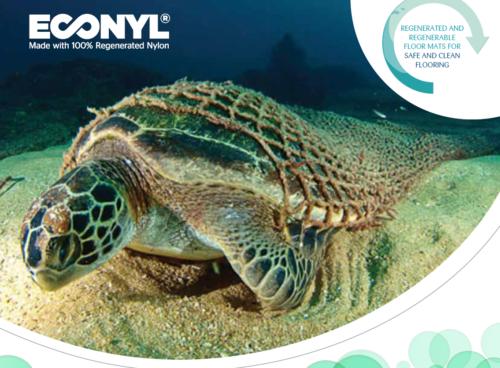 ECONYL® image - Cannon Hygiene International recycled floor mats